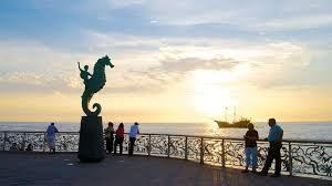 The Malecon Puerto Vallarta