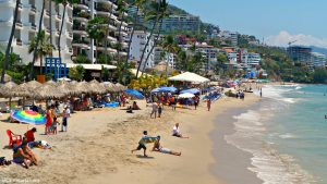 Beautiful Beaches in Downtown Puerto Vallarta